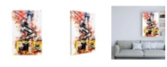 """Trademark Global Philippe Hugonnard NYC Watercolor Collection - One Way Canvas Art - 27"""" x 33.5"""""""