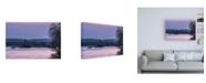 "Trademark Global Chuck Burdic Evening on the Bay Canvas Art - 19.5"" x 26"""