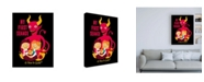 "Trademark Global Michael Buxto My First Seance Canvas Art - 15.5"" x 21"""