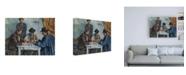"""Trademark Global Paul Czann The Card Players Table Canvas Art - 27"""" x 33.5"""""""