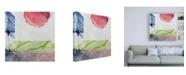 """Trademark Global Louis Duncan-H Earth Glows 2 Canvas Art - 36.5"""" x 48"""""""