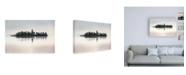 """Trademark Global Lynne Dougla Dawn at Loch Awe Canvas Art - 19.5"""" x 26"""""""