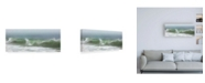 "Trademark Global Katherine Gendrea Surfside Beach in Fog Canvas Art - 27"" x 33.5"""