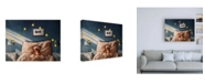 "Trademark Global Lucia Hefferna Bentleys Dream Canvas Art - 36.5"" x 48"""