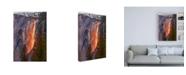 "Trademark Global John Gavrili Horsetail Fall Canvas Art - 36.5"" x 48"""