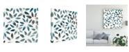 "Trademark Global Chariklia Zarris Freshwater Tide VI Canvas Art - 15"" x 20"""