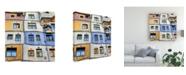 "Trademark Global Yair Tzur Windows of Hundertwasser Canvas Art - 15"" x 20"""