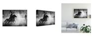 "Trademark Global Mohammadreza Momeni Lunge Canvas Art - 20"" x 25"""