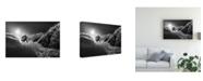 "Trademark Global Sandi Bertoncelj Snow Splash Over the Edge Canvas Art - 15"" x 20"""