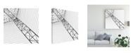 """Trademark Global Kahar Lagaa The Abstract Canvas Art - 15"""" x 20"""""""