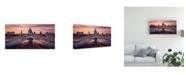 "Trademark Global Roland Shainidze Millennium Bridge Leading Towards St Pauls Church Canvas Art - 20"" x 25"""