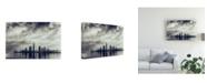 "Trademark Global Mohamed Kazzaz Abu Dhabi Skyline Canvas Art - 20"" x 25"""