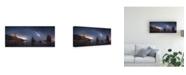 "Trademark Global Juan Facal Photography Sea of Galaxies Canvas Art - 37"" x 49"""