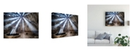 "Trademark Global Kaan Kocakoglu What You Seek is Seeking You Canvas Art - 37"" x 49"""