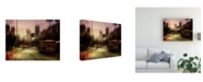 "Trademark Global Luba Chapman Rainy Day in San Francisco Canvas Art - 20"" x 25"""