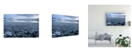 "Trademark Global Riccardo Lucidi Frozen Ice Shards Canvas Art - 37"" x 49"""