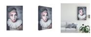 "Trademark Global Michal Magdziak Harlequin Heart Canvas Art - 20"" x 25"""