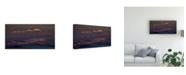 "Trademark Global Peter Svoboda Mqep Lined with Light Canvas Art - 15"" x 20"""