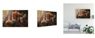 "Trademark Global Sergio Saavedra Ruiz Games on the Heights Canvas Art - 20"" x 25"""