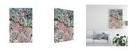 "Trademark Global Mark Lovejoy Abstract Splatters Lovejoy 29 Canvas Art - 15"" x 20"""