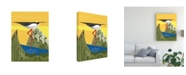 "Trademark Global Marie Sansone Stilt Canvas Art - 20"" x 25"""