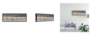 "Trademark Global Monte Nagler Grand Haven Lighthouse Panorama Canvas Art - 15"" x 20"""