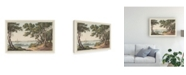 "Trademark Global Joseph Stadler View of the River Canvas Art - 37"" x 49"""