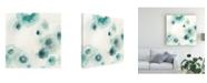 "Trademark Global June Erica Vess Aquatic Garden IV Canvas Art - 27"" x 33"""