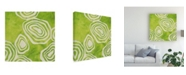 "Trademark Global June Erica Vess Bright Mineral III Canvas Art - 27"" x 33"""