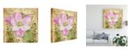 """Trademark Global Leslie Mark Vintage Apple Blossom II Canvas Art - 15"""" x 20"""""""