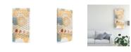 "Trademark Global Nikki Galapon Home Grid IV Canvas Art - 37"" x 49"""