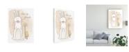 "Trademark Global June Erica Vess Woodland Whimsy I Canvas Art - 37"" x 49"""