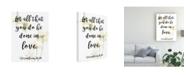 "Trademark Global Studio W Divine Romance VI Canvas Art - 20"" x 25"""