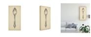 """Trademark Global Ethan Harper Ornate Cutlery II Canvas Art - 20"""" x 25"""""""