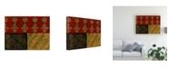 "Trademark Global Pablo Esteban Bold Geometry 7 Canvas Art - 36.5"" x 48"""