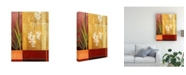 "Trademark Global Pablo Esteban Palm on Left Canvas Art - 27"" x 33.5"""