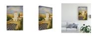 "Trademark Global Pablo Esteban Tuscan Farm 1 Canvas Art - 27"" x 33.5"""