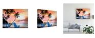 "Trademark Global Patrick Sullivan Tropical Morning Canvas Art - 36.5"" x 48"""