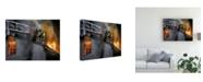 "Trademark Global Paul Walsh Rusty Mystic Fire Canvas Art - 27"" x 33.5"""