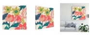 "Trademark Global Chariklia Zarris Lyla Grace III Canvas Art - 36.5"" x 48"""