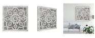 """Trademark Global Melissa Wang Antique Garden Gate III Canvas Art - 15.5"""" x 21"""""""