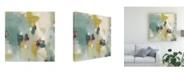 "Trademark Global June Erica Vess Harbor Lights I Canvas Art - 15.5"" x 21"""