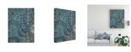 "Trademark Global Chariklia Zarris Batik Cloth I Canvas Art - 27"" x 33.5"""