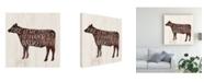 "Trademark Global Victoria Borges Farmhouse Bbq II Canvas Art - 15.5"" x 21"""