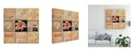 "Trademark Global Judi Bagnato Golden Light Composition I Canvas Art - 15.5"" x 21"""