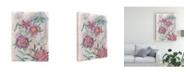 "Trademark Global Melissa Wang Spring Composition I Canvas Art - 36.5"" x 48"""