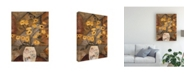 "Trademark Global Judi Bagnato Compassionate Flowers II Canvas Art - 19.5"" x 26"""