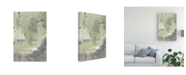 "Trademark Global Joyce Combs Peace, Love, Joy II Canvas Art - 36.5"" x 48"""
