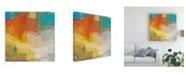 "Trademark Global Sue Jachimiec Oren I Canvas Art - 15.5"" x 21"""