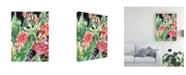 """Trademark Global Melissa Wang Garden Fest I Canvas Art - 36.5"""" x 48"""""""